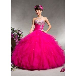 SALE! Mori Lee Quinceanera Ball Gown Cerise 12